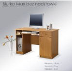 biurko Max bez nadstawki Maridex
