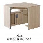 biurko narożne Gumi G11 Dolmar