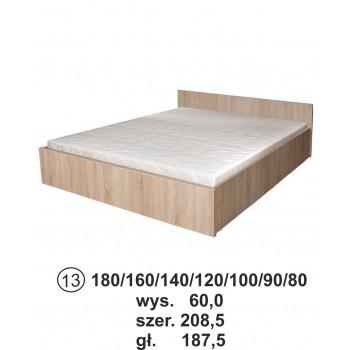 Soneo 2 S13a łóżko Z Materacem I Pojemnikiem Na Pościel