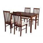zestaw 3 Stół Max 3+ krzesło Boss 10 Drewmix