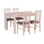 zestaw 4 Stół Max 5+ krzesło Boss 10 Drewmix