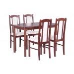 zestaw 5 Stół Max 4+ krzesło Boss 7 Drewmix