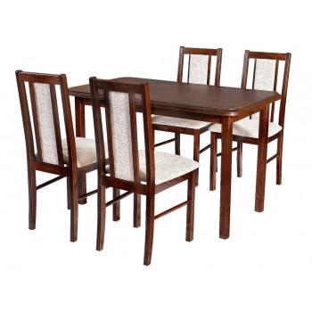 Zestaw 9 Stół Max 4 + kzesło Boss 14 Drewmix