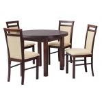 Drewmix - Stół Poli 1+ Krzesło Milano 5