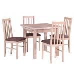 Komplet stołowy Stół Max 7+ Krzesło Boss 10 Drewmix