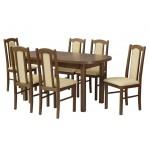 zestaw 12 Drewmix Stół Wenus P-1 + Krzesła Boss 7
