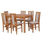 zestaw 35 Drewmix Stół Modena 1 + Krzesła Boss 14