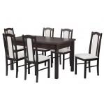 zestaw 39 Drewmix Stół Modena 1 + Krzesła Boss 7