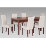 zestaw 43 Drewmix Stół Modena 2 + Krzesła Roma 2