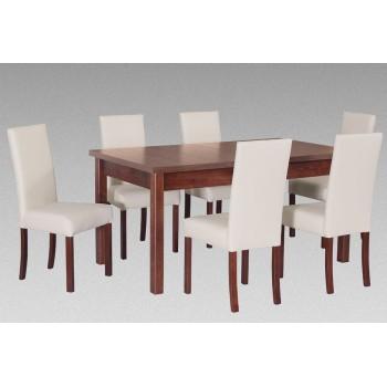 zestaw 43 Stół Modena 2 + Krzesła Roma 2 Drewmix