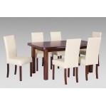 zestaw 44 Drewmix Stół Wenus P-5 + Krzesła Roma 2