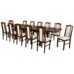 zestaw 48 Drewmix Stół Wenus P-7 + Krzesła Boss 7