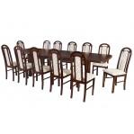 zestaw stołowy 50 Drewmix Stół Wenus P-7 + Krzesła  Piano
