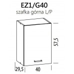 Eliza EZ1/G40 szafka górna 40 BogFran