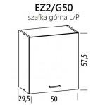 Eliza EZ2/G50 szafka górna 50 BogFran