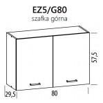 Eliza EZ5/G80 szafka górna 80 BogFran
