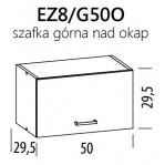 Eliza EZ8/G50 szafka okap górna 50 BogFran