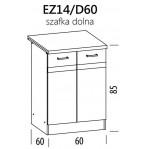 Eliza EZ14/D60 szafka dolna z drzwiami 60 BogFran