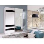 Szafa Batumi 7 szer. 150 cm z lustrem Maridex