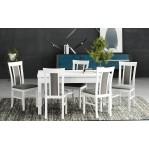 zestaw 33 Stół Modena 2+krzesła Milano 8 Drewmix