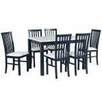 Zestaw 38 stół Max 5+krzesła Milano 1 Drewmix