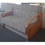 Sofa 2 Kasia boki drewno Renoma