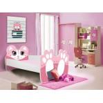 Łóżko BEAR Niedźwiedź Różowy ADRK FURNITURE