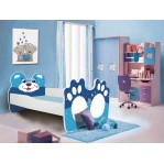 Łóżko BEAR Niedźwiedź Niebieski ADRK FURNITURE