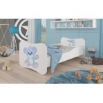 Łóżko GONZALO Niebieski Miś ADRK FURNITURE